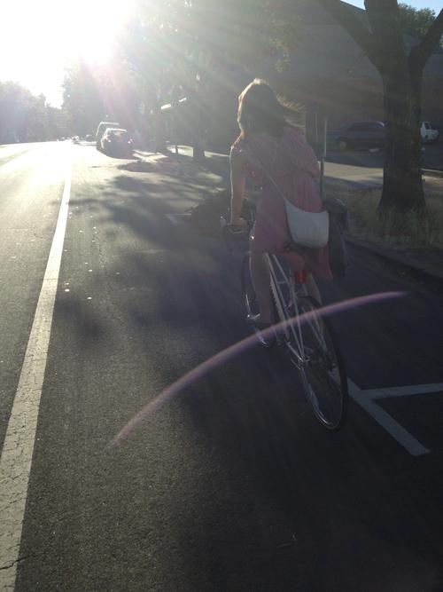 bikingintothesunsetalisonkranzsacramento