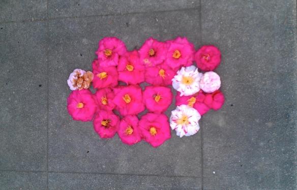sidewalk floral arrangement sacramento