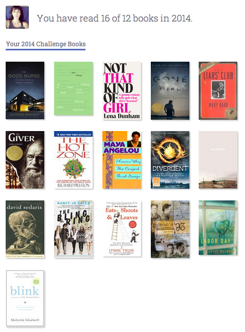 2014 books read