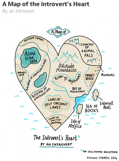 introvert's heart by gemma correll